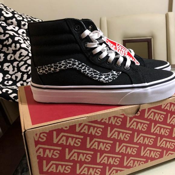 1269a7881f Vans Mini Leopard Sk8-Hi Reissue Sneakers